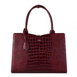 "Socha Business Bag crocodile,  15.6"" laptoptas voor dames"