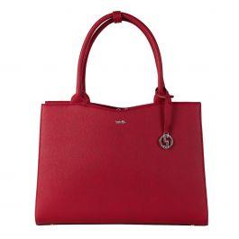 """Socha Straight Line Business bag Red,  een 15.6"""" laptoptas voor dames"""