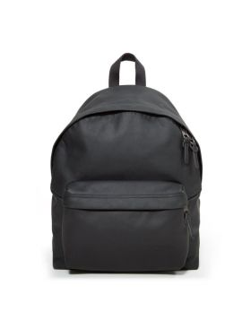 Eastpak Padded Pak'R Rugzak, Black Authentic Leather