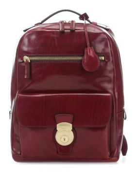 "The Bridge Capalbio Laptop Backpack 13"", bordeaux"